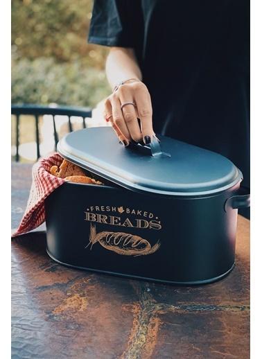 Arma House Siyah Country Tarzı Metal Ekmeklik Siyah